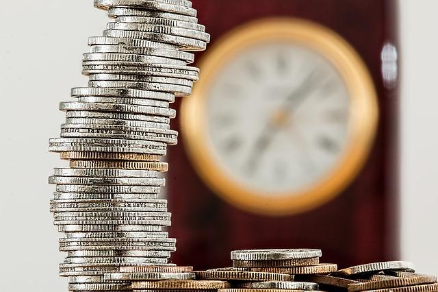 Pengar och klocka